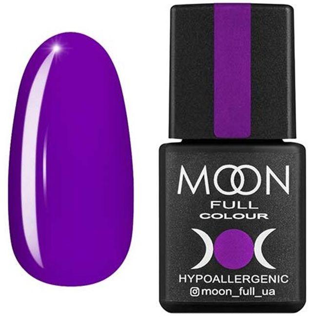 Гель-лак Moon Full Color №164 (ярко-фиолетовый, эмаль) 8 мл