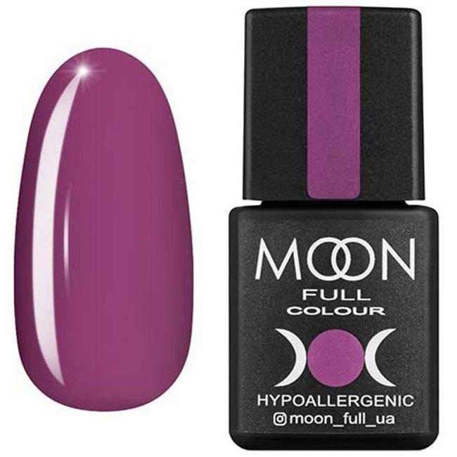Гель-лак Moon Full Color №165 (гелиотроп сиреневый, эмаль) 8 мл