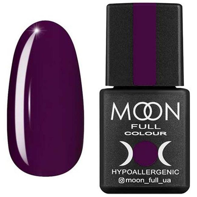 Гель-лак Moon Full Color №167 (сливовый, эмаль) 8 мл