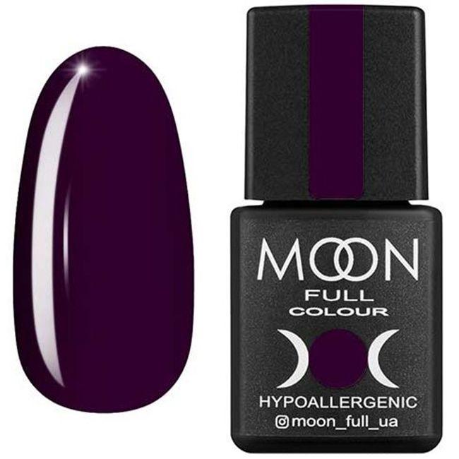 Гель-лак Moon Full Color №168 (темно-сливовый, эмаль) 8 мл