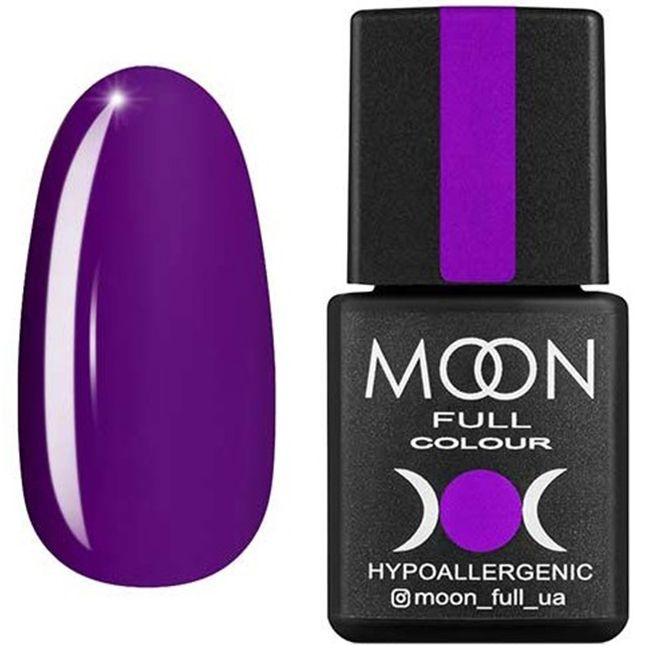 Гель-лак Moon Full Color №169 (фиолетовый, эмаль) 8 мл