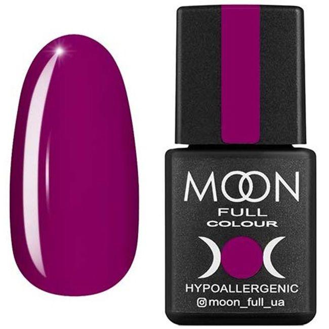 Гель-лак Moon Full Color №170 (свекольный светлый, эмаль) 8 мл