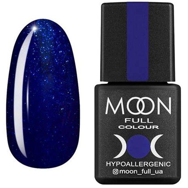 Гель-лак Moon Full Color №174 (сапфировый, эмаль) 8 мл