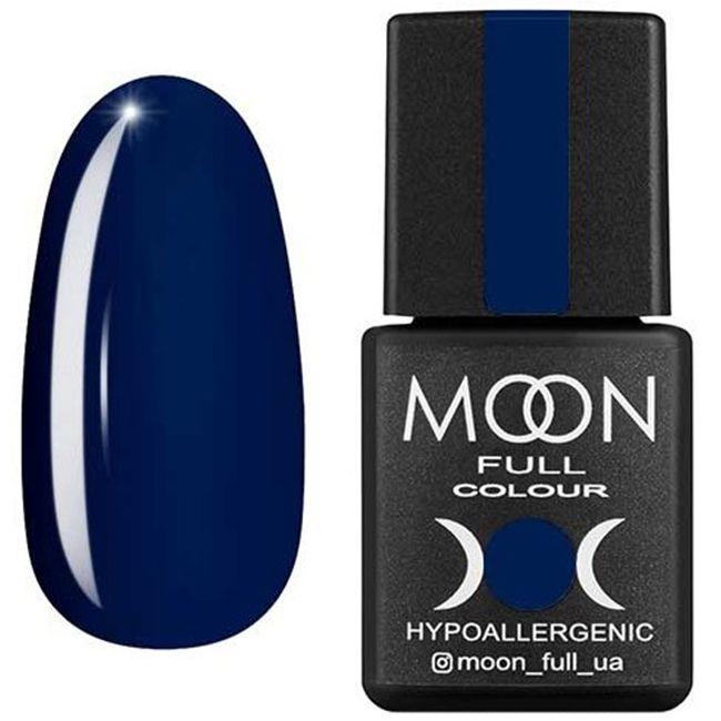 Гель-лак Moon Full Color №175 (синий дымчатый, эмаль) 8 мл