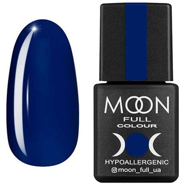Гель-лак Moon Full Color №176 (пороховая синь, эмаль) 8 мл
