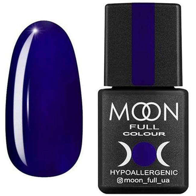 Гель-лак Moon Full Color №177 (темный индиго, эмаль) 8 мл