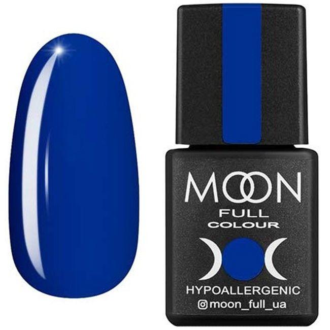 Гель-лак Moon Full Color №179* (васильковый, эмаль) 8 мл