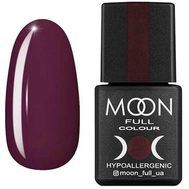 Гель-лак Moon Full Color №191* (темный каштан, эмаль) 8 мл