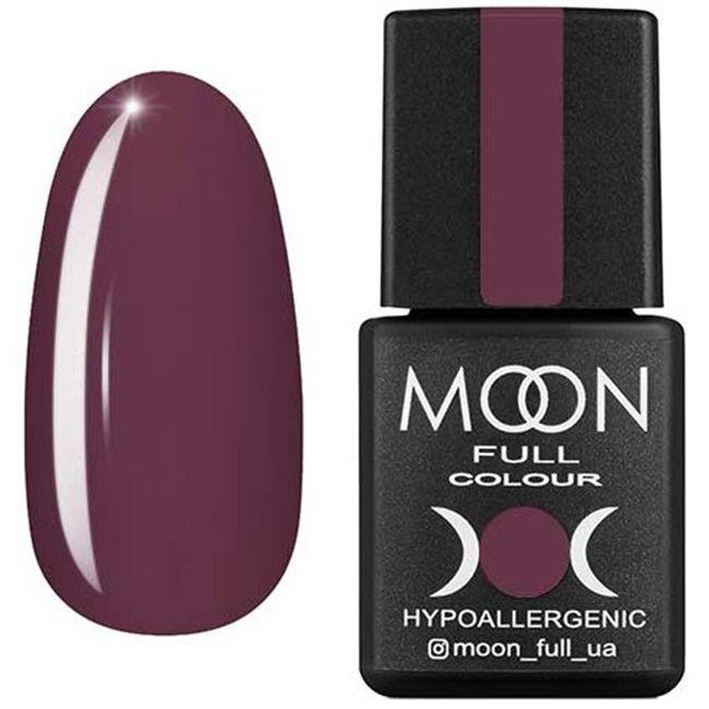 Гель-лак Moon Full Color №192* (коричнево-серый, эмаль) 8 мл