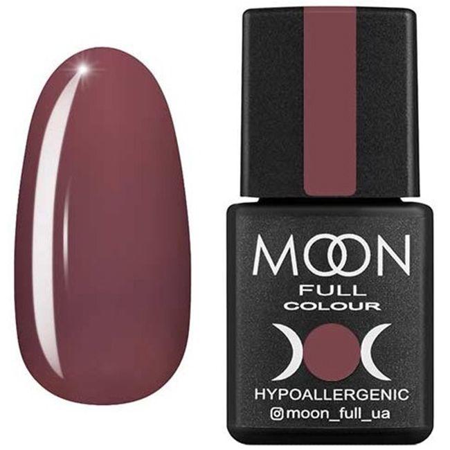 Гель-лак Moon Full Color №193 (горький шоколад, эмаль) 8 мл