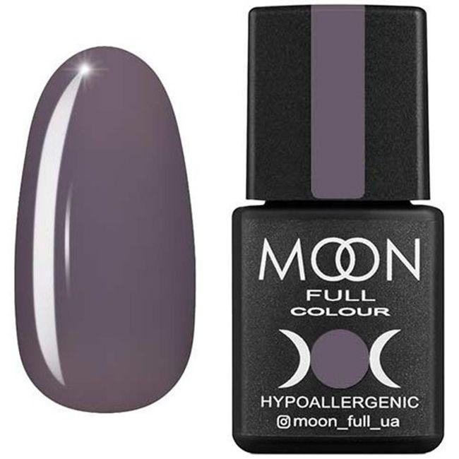 Гель-лак Moon Full Color №195 (темный пепел, эмаль) 8 мл
