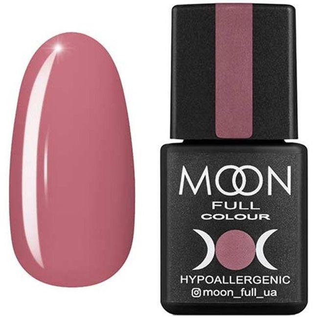Гель-лак Moon Full Color №197* (пыльная роза, эмаль) 8 мл