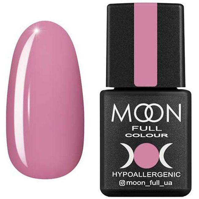 Гель-лак Moon Full Color №198* (розовый винтажный, эмаль) 8 мл