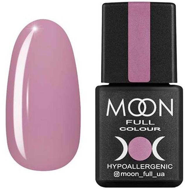 Гель-лак Moon Full Color №199* (пудровый розовый, эмаль) 8 мл