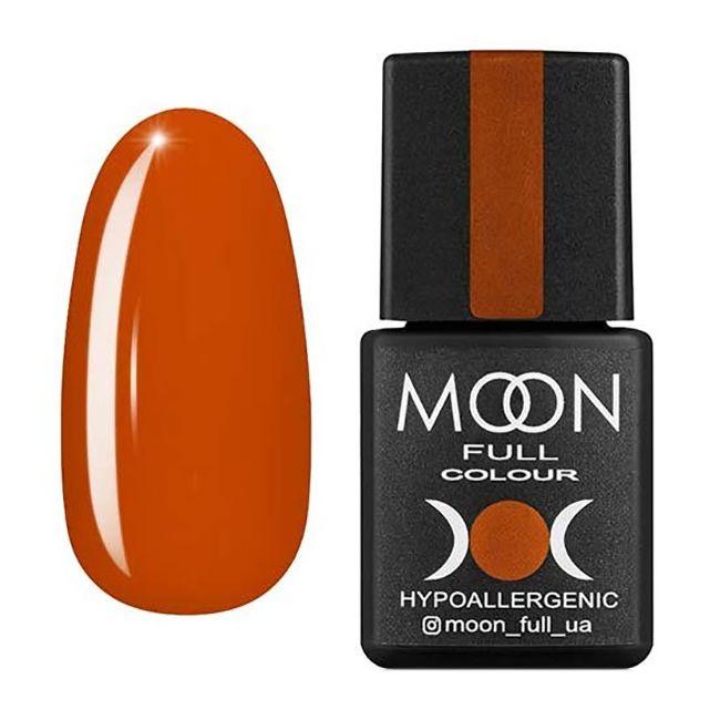 Гель-лак Moon Full №206* (тициановый, эмаль) 8 мл