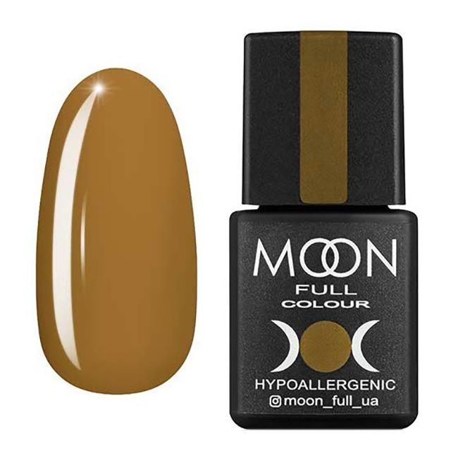 Гель-лак Moon Full №211 (горчичный, эмаль) 8 мл