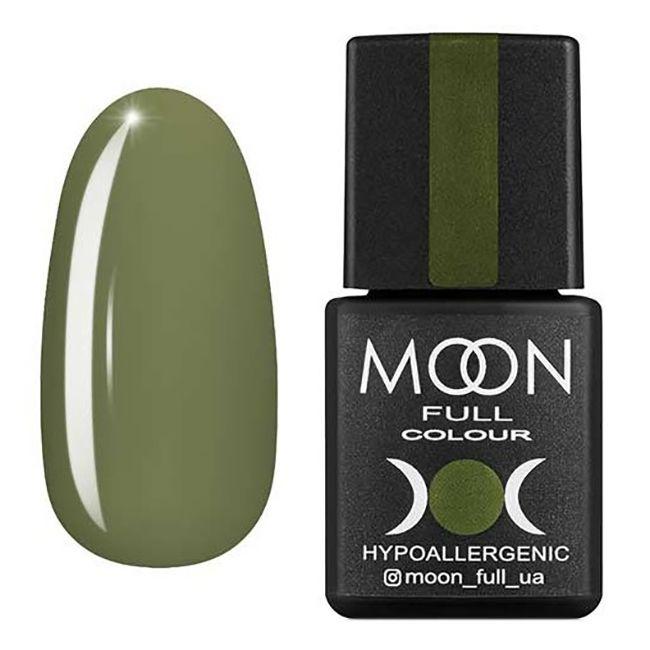 Гель-лак Moon Full №213* (нежно-оливковый, эмаль) 8 мл