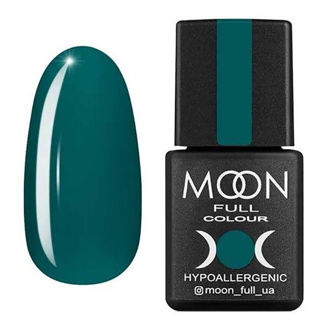 Гель-лак Moon Full №216 (полуночный зеленый, эмаль) 8 мл