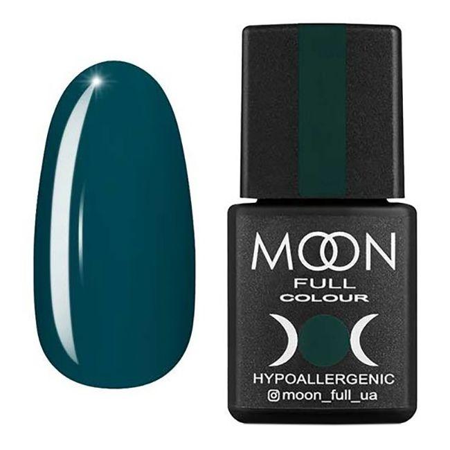 Гель-лак Moon Full №217 (сине-зеленый, эмаль) 8 мл