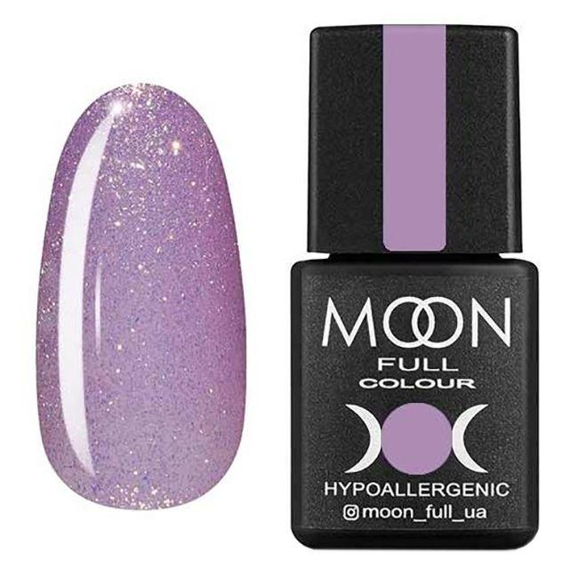 Гель-лак Moon Full №305* (светло-сиреневый с золотистым шиммером) 8 мл