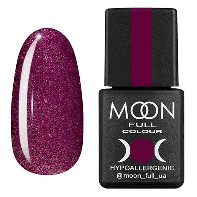 Гель-лак Moon Full №310* (бордово-розовый с шиммером) 8 мл