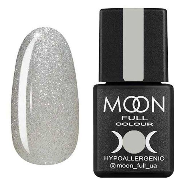 Гель-лак Moon Full №312* (белый жемчуг с микроблеском) 8 мл