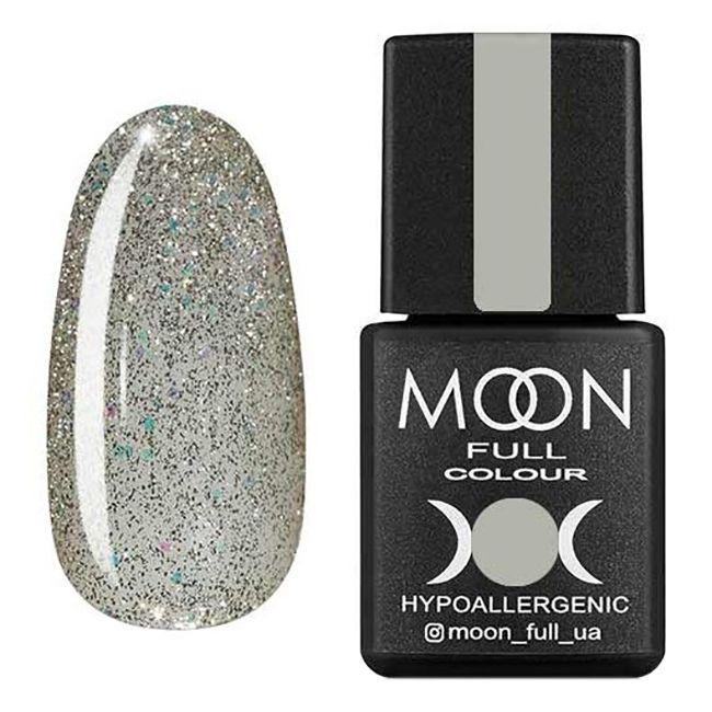 Гель-лак Moon Full №313 (белое золото с шиммером) 8 мл