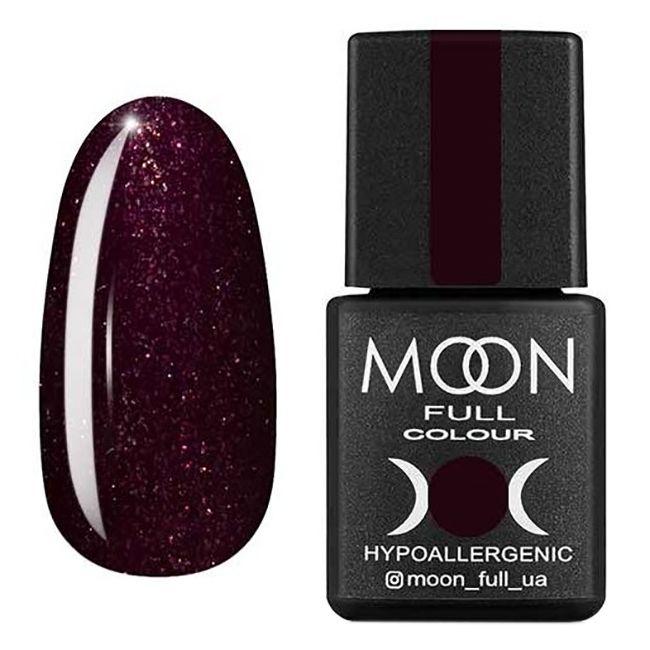 Гель-лак Moon Full №315 (спелая вишня с шиммером) 8 мл