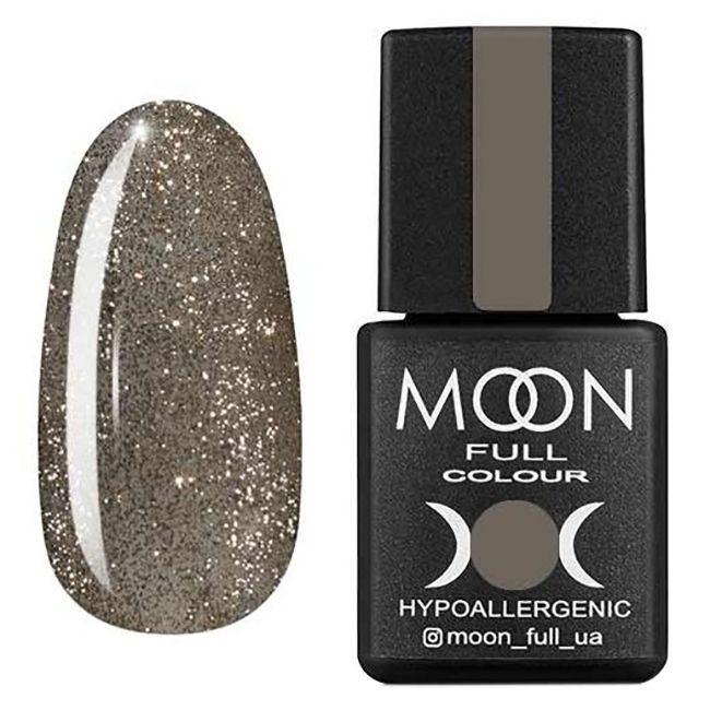 Гель-лак Moon Full №325 (серебристо-золотой с мелким шиммером) 8 мл