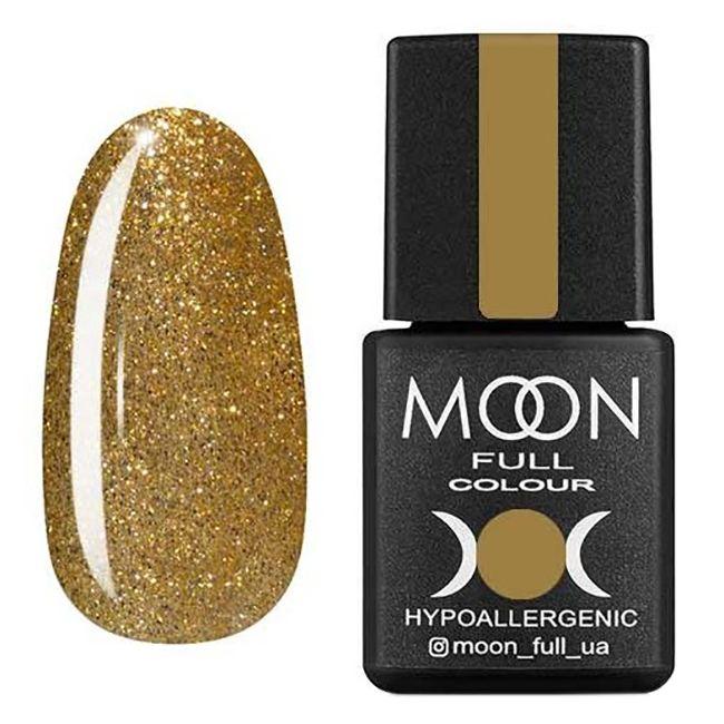 Гель-лак Moon Full №326* (золотой с шиммером) 8 мл