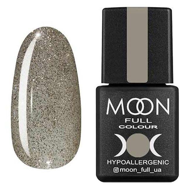 Гель-лак Moon Full №329 (серебристо-жемчужный с шиммером) 8 мл