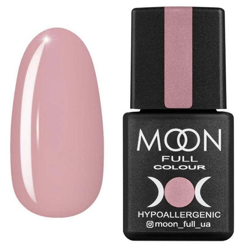 Гель-лак Moon Full Winter 2021 №644 (пудровый розовый, эмаль) 8 мл