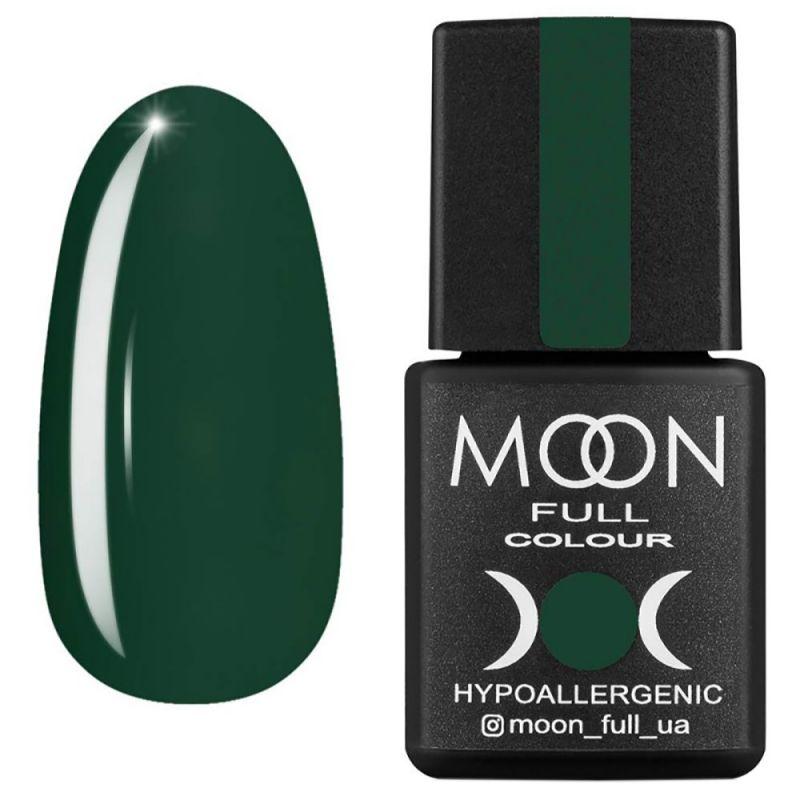 Гель-лак Moon Full Winter 2021 №659 (зеленый хвойный, эмаль) 8 мл
