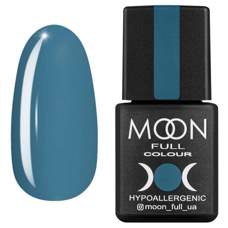 Гель-лак Moon Full Winter 2021 №660 (голубовато-серый, эмаль) 8 мл