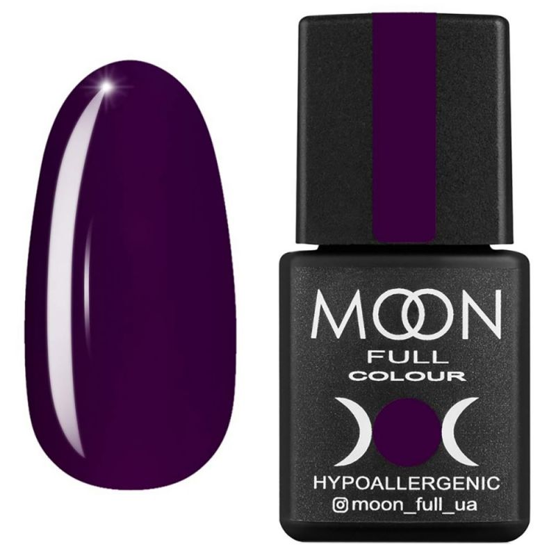 Гель-лак Moon Full Winter 2021 №664 (аметистовый темный, эмаль) 8 мл