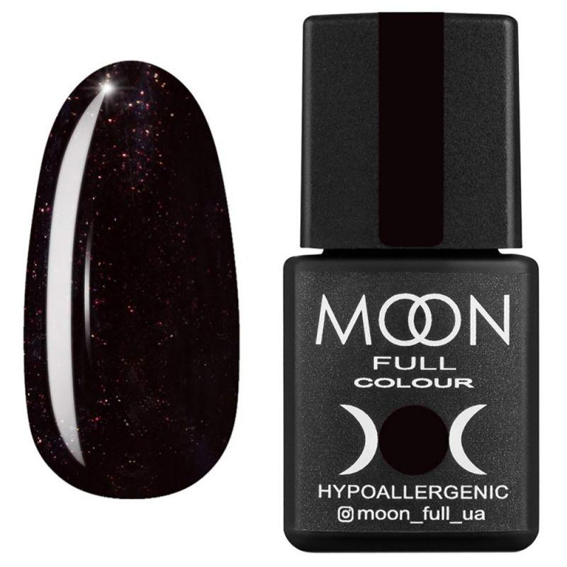 Гель-лак Moon Full Winter 2021 №667 (шоколадно-сливовый с микроблеском) 8 мл