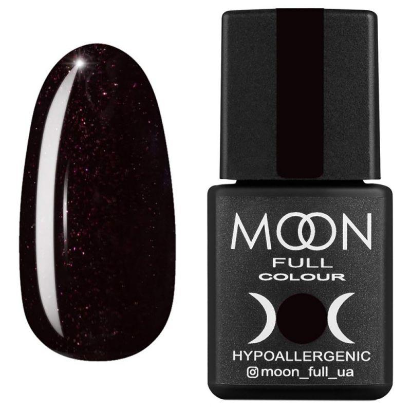 Гель-лак Moon Full Winter 2021 №668 (шоколадно-сливовый с шиммером) 8 мл