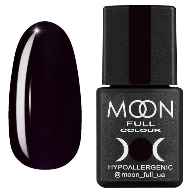 Гель-лак Moon Full Winter 2021 №669 (темный баклажан, эмаль) 8 мл