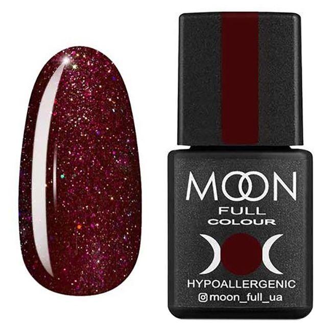 Гель-лак Moon Full Diamond №19* (сливовый с розовым шиммером) 8 мл