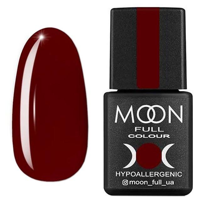 Гель-лак Moon Full Color Glass Effect №02 (красный, эмаль) 8 мл