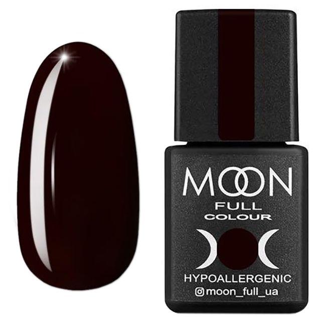 Гель-лак Moon Full Color Glass Effect №03 (коричневый, эмаль) 8 мл