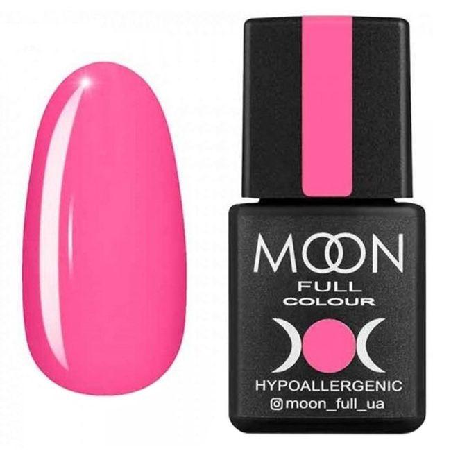 Гель-лак Moon Full Color Glass Effect №04 (розовый, эмаль) 8 мл