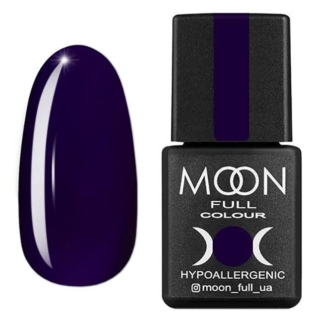 Гель-лак Moon Full Color Glass Effect №05 (фиолетовый, эмаль) 8 мл
