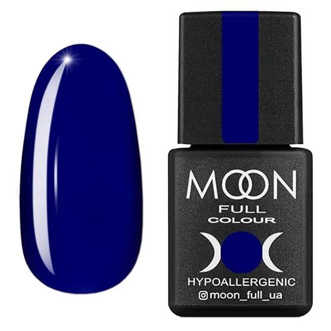 Гель-лак Moon Full Color Glass Effect №06 (синий, эмаль) 8 мл
