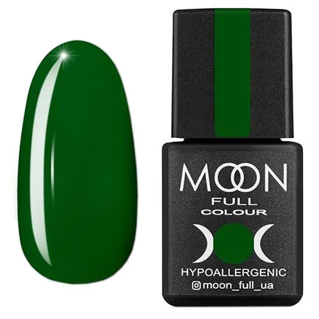 Гель-лак Moon Full Color Glass Effect №07 (зеленый, эмаль) 8 мл
