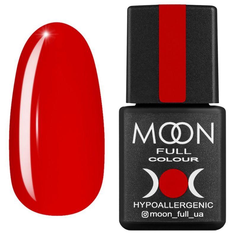 Гель-лак Moon Full Ferrari №801 (красный, эмаль) 8 мл