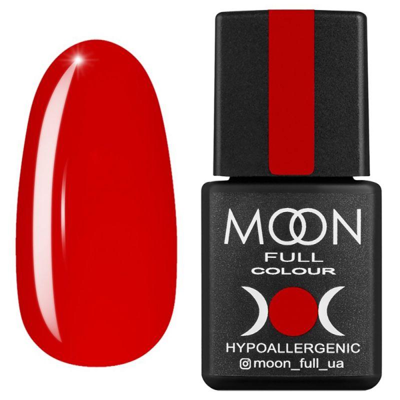 Гель-лак Moon Full Ferrari №802 (ярко-красный, эмаль) 8 мл
