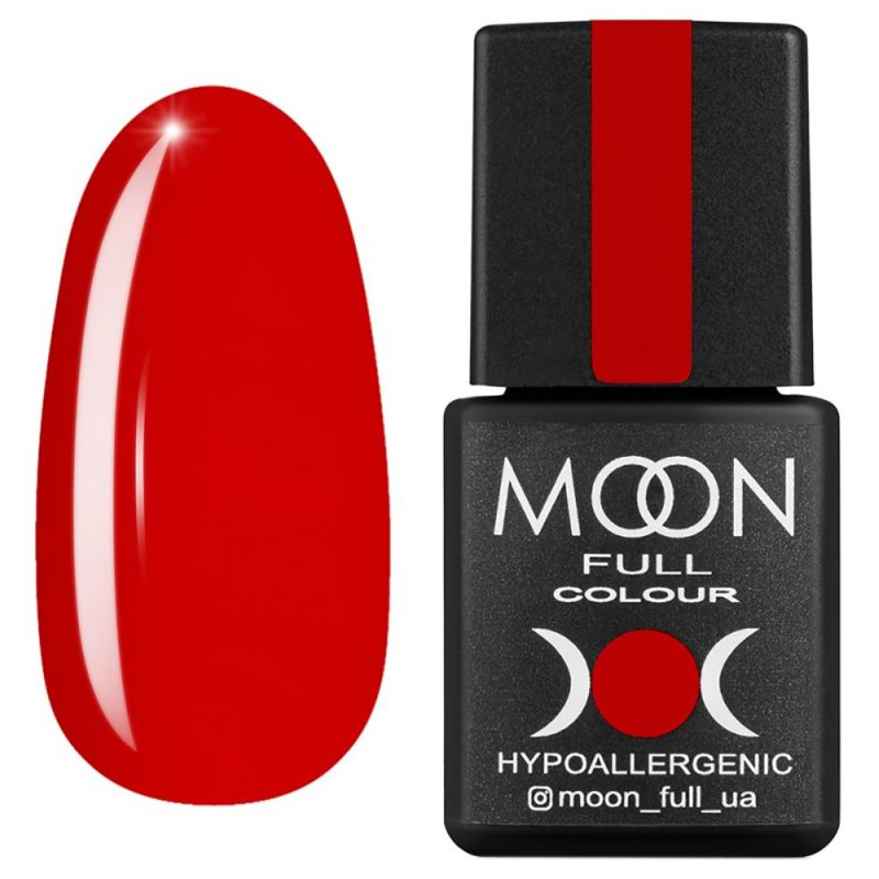 Гель-лак Moon Full Ferrari №805 (красный коралл, эмаль) 8 мл