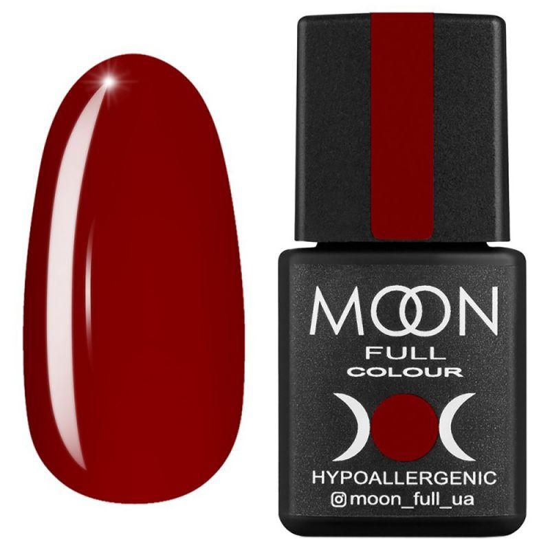 Гель-лак Moon Full Ferrari №810** (темно-красный, эмаль) 8 мл