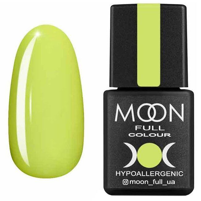 Гель лак Moon Full Neon №703* (лимонный, эмаль) 8 мл